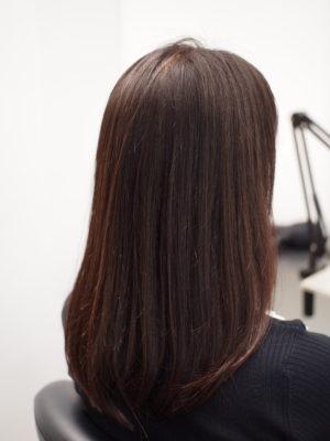 髪の毛に栄養が入っている状態