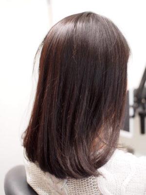 髪の毛が乾燥している状態