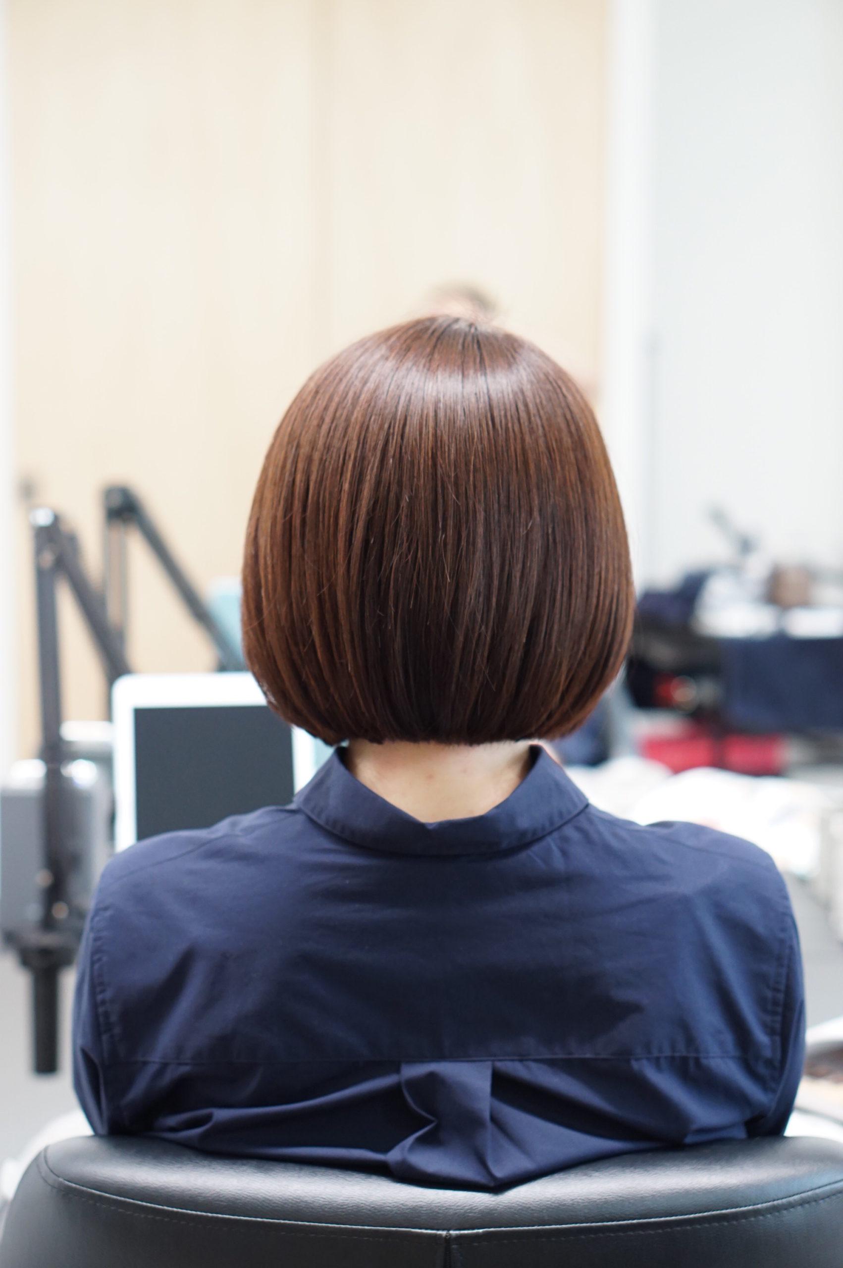 髪がキレイな女性